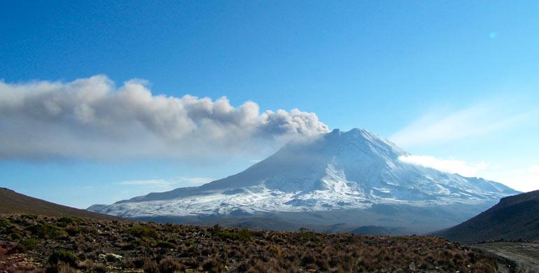 cordillera-volcanica
