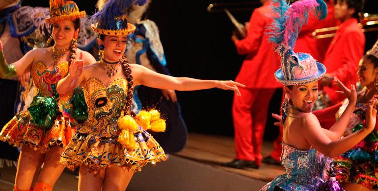 Danza la Morenada en Chongos Bajo