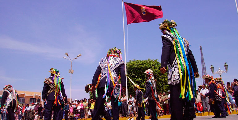 Danza los negritos de Huayán