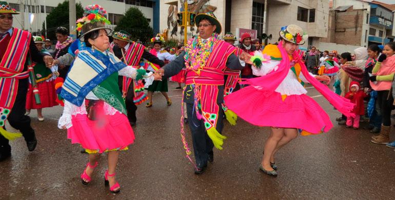 Danza Qashwa de Machuaychas y Chiñipilcos