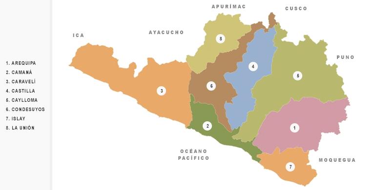 provincias-arequipa