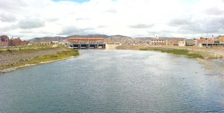 Río Desaguadero (Titicaca)