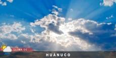 Clima de Huánuco