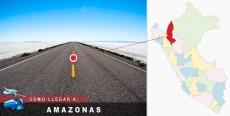 Cómo llegar a Amazonas