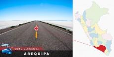 Cómo llegar a Arequipa
