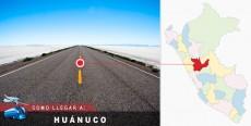 Cómo llegar a Huánuco