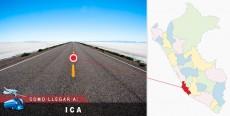Cómo llegar a Ica