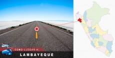 Cómo llegar a Lambayeque