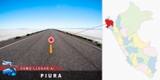 Cómo llegar a Piura