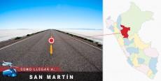 Cómo llegar a San Martín