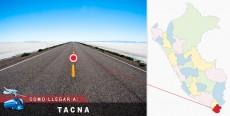 Cómo llegar a Tacna