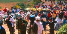 Fiesta del Señor de Espíritu Santo en Huancavelica