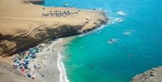 Las playas en Ica