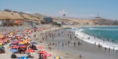 Las playas en Lima