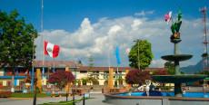Plaza de armas de Moyobamba