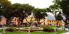 Plaza de armas de Huánuco