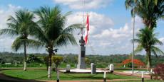 Plaza mirador Miguel Grau