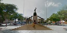 Plazuela Bolognesi en Tumbes