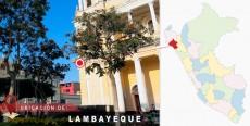 Ubicación de Lambayeque