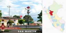 Ubicación de San Martín