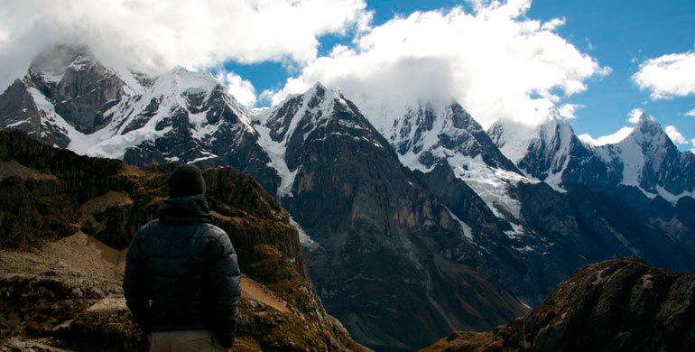Aventura en la Cordillera Huayhuash
