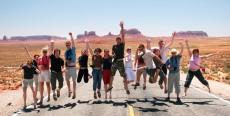 6 maneras para viajar en grupo