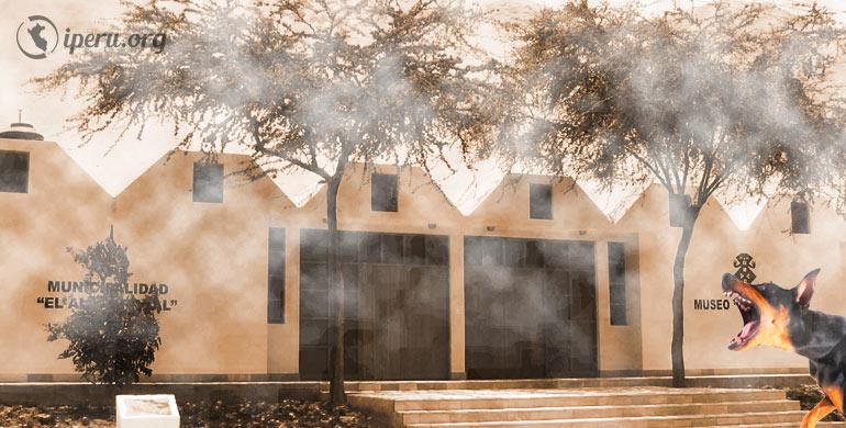 El misterioso museo del Algarrobal