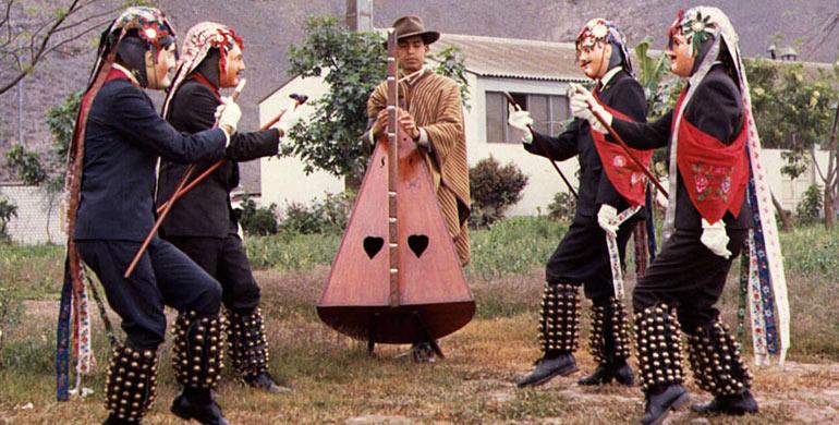 Danza abuelitos de Quipán