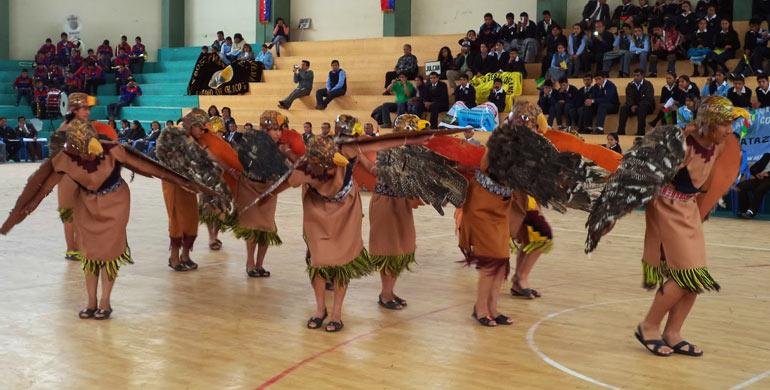 Danza Halcones de Huamachuco