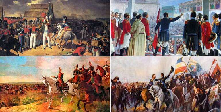 Guerras de independencia hispanoamericanas