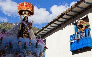 Danza Saqra - Paucartambo - Virgen del Carmen