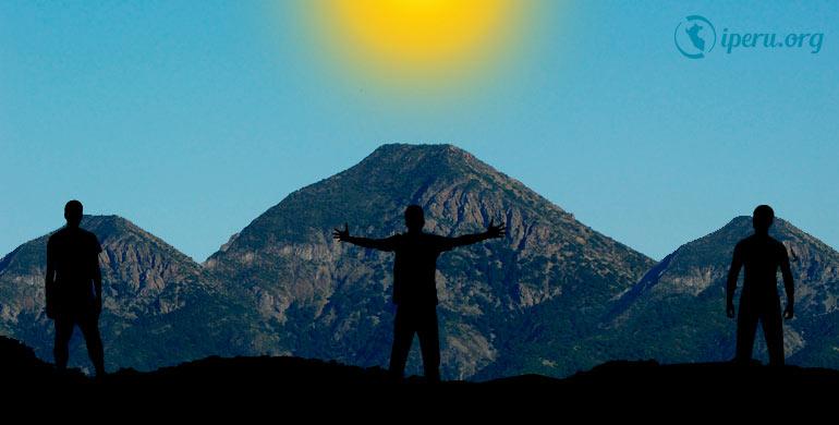 Leyenda el origen de los Cerros de Tres Tomas