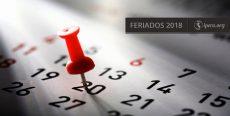 Calendario de feriados 2018 en Perú