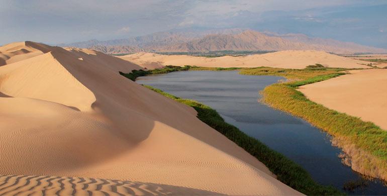 Laguna de Morón (Oasis de Morón)