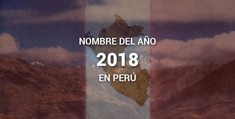 """Nombre del año 2018 en Perú """"Año de la Igualdad y la No Violencia contra las Mujeres"""""""