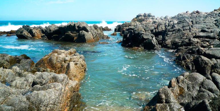 Pozas Playa Tanaka