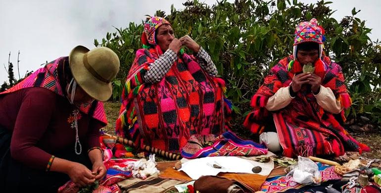 Ceremonia de Ofrenda a la Pachamama