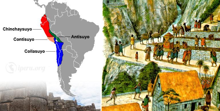 División Territorial del Imperio Inca (Los Suyos)
