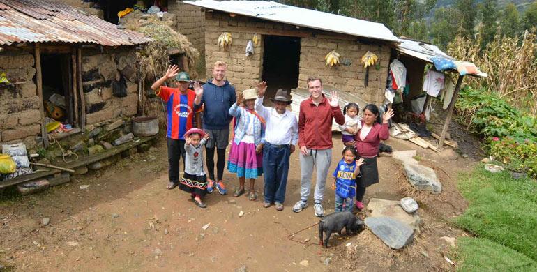 La comunidad de Vicos en la Cordillera Blanca (Huaraz)