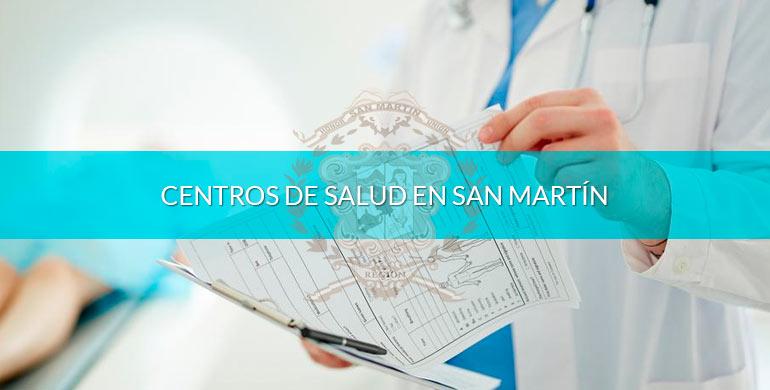 Centros de salud en San Martín