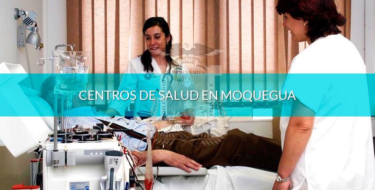 Centros de salud en Moquegua