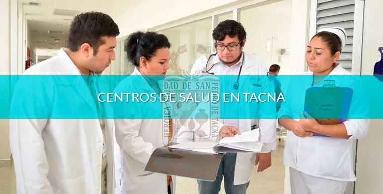 Centros de salud en Tacna