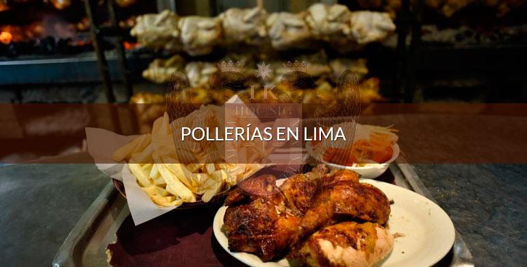 Pollerías en Lima