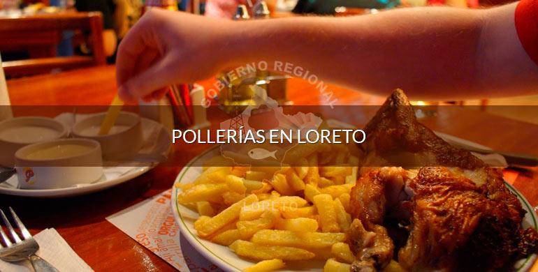 Pollerías en Loreto