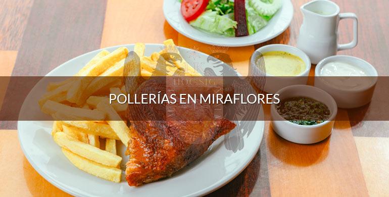 Pollerías en Miraflores