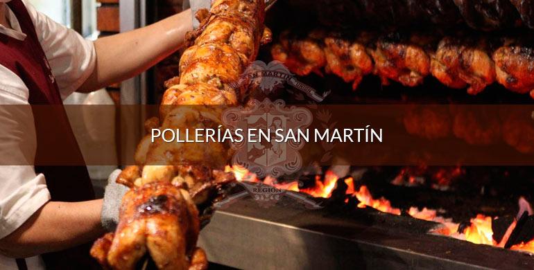 Pollerías en San Martín