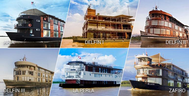 Cruceros en el Río Amazonas