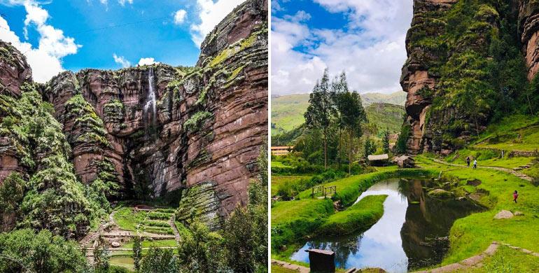 Farallones de Tecsecocha en Ccorca – Cusco